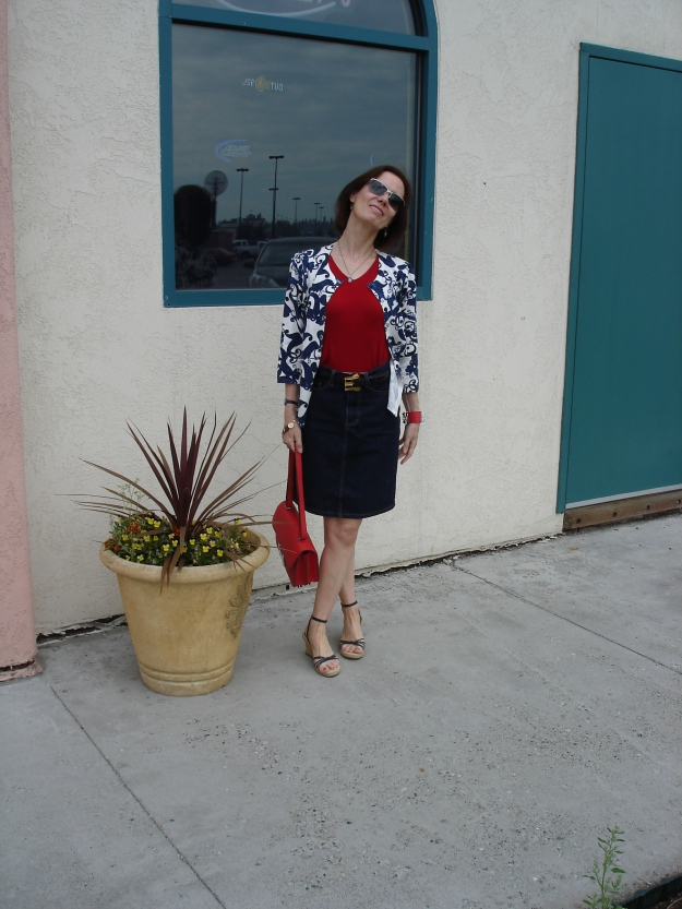 fashionover40 mature patriotic outfit @ http://www.highlatitudestyle.com