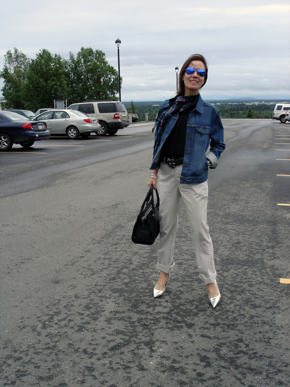 fashionover40 Mature casual outfit