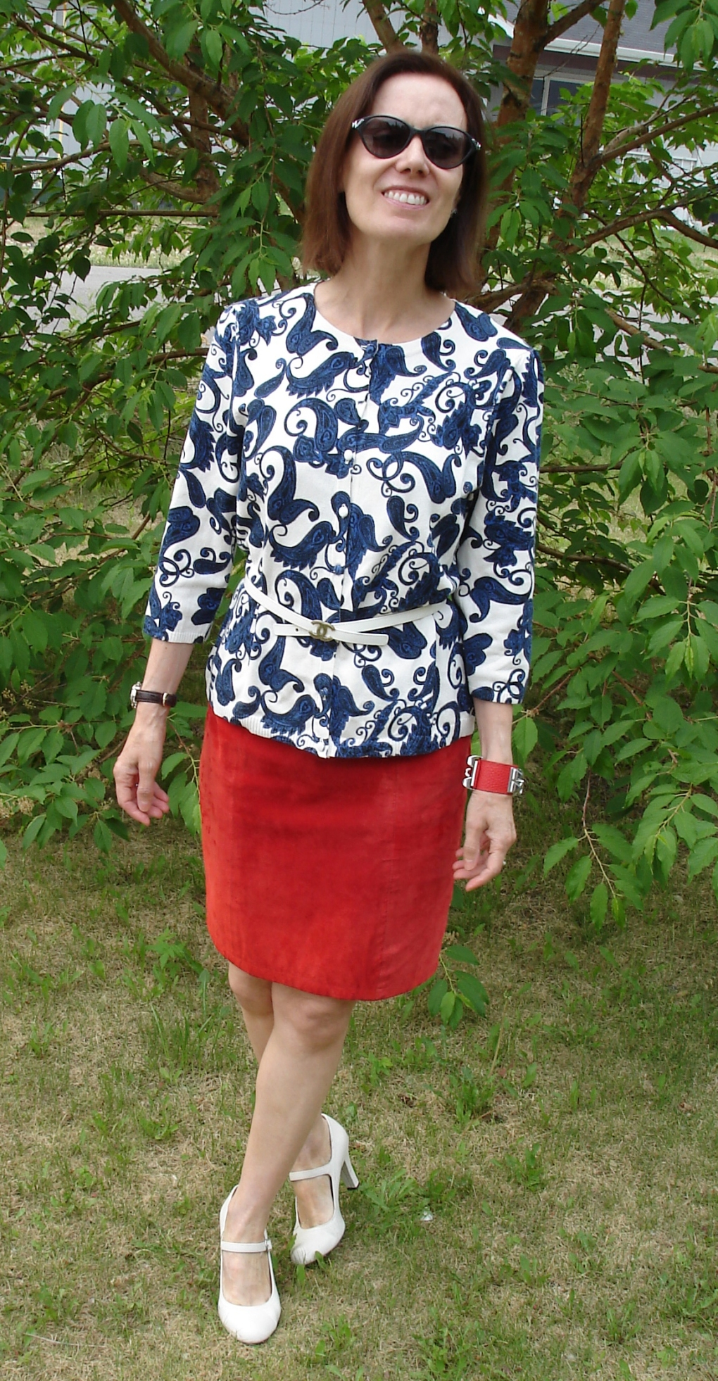 #fashionover50 red white and blue outfit for Independence Day @| http://www.highlatitudestyle.com
