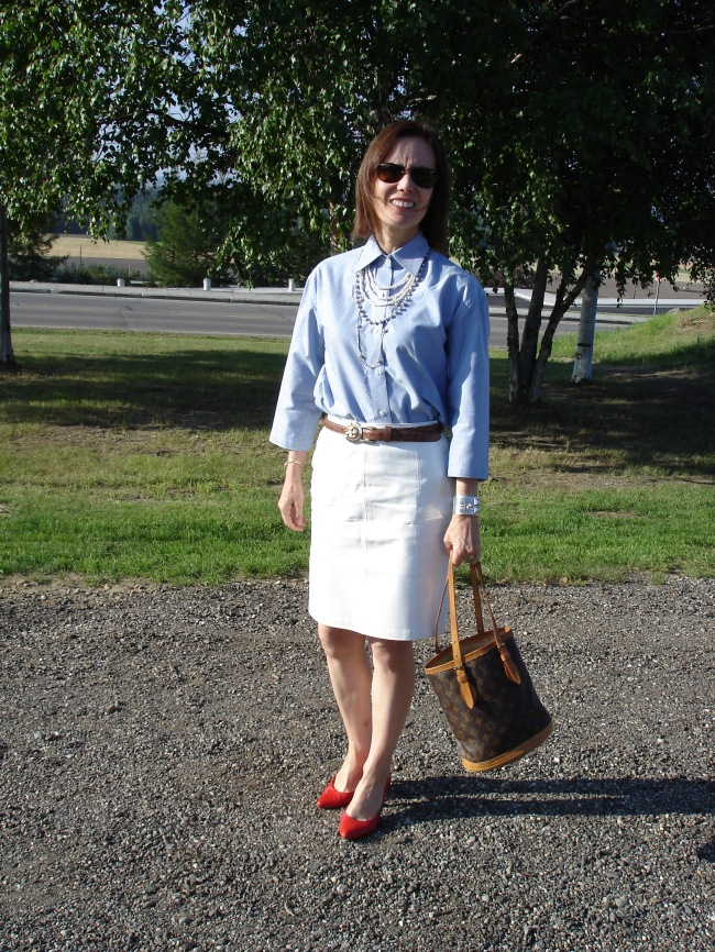 #over40 Summer office look over 40   High Latitude Style   http://www.highlatitudestyle.com