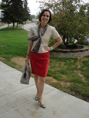 #over40fashion #maturefashion wearing leather to work over 40 | High Latitude Style | http://www.highlatitudestyle.com