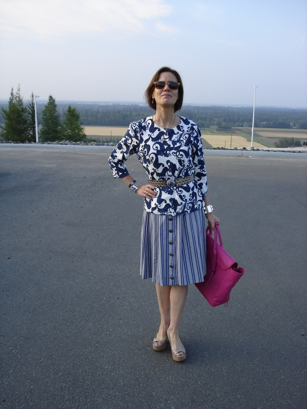 #matureStyle picnic look | High Latitude Style | http://wp.me/p3FTnC-3f8