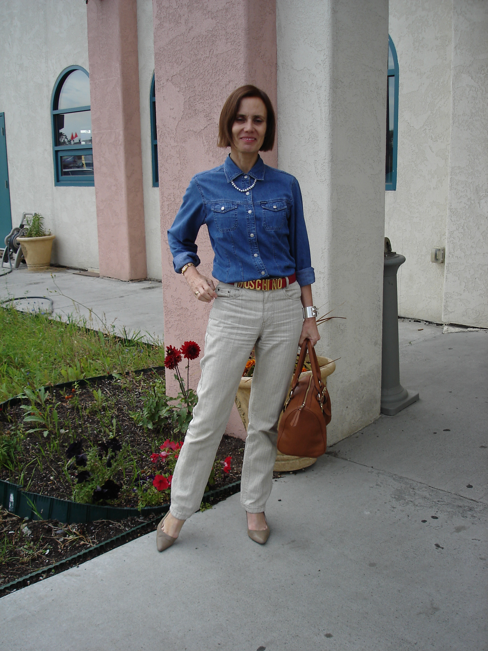Linen meets denim – High Latitude Style