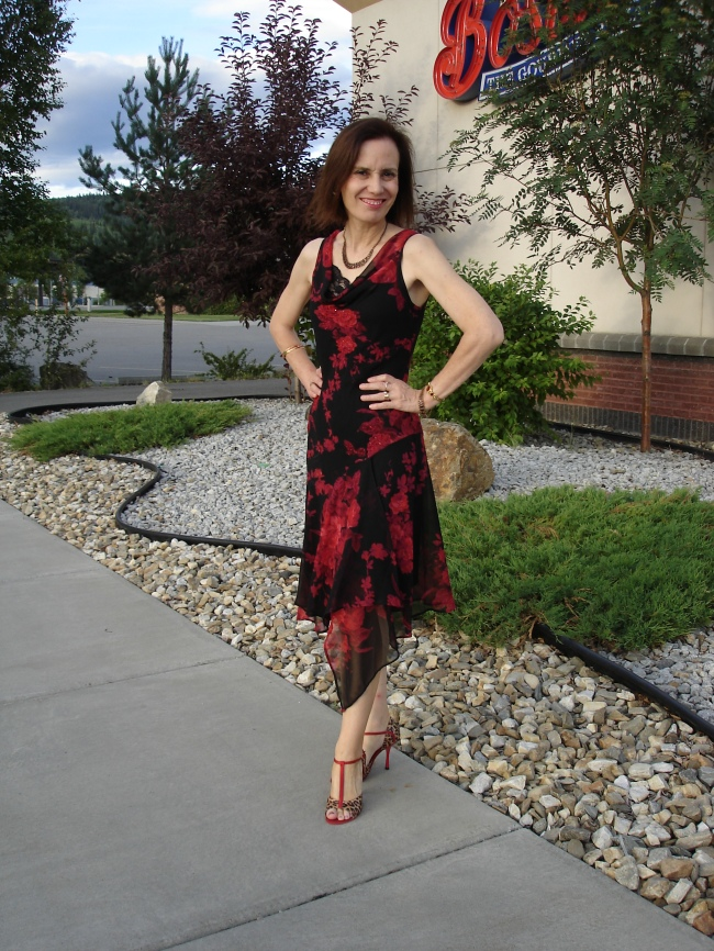 #over40 Argentine Tango dance dress | High Latitude Style | http://www.highlatitudestyle.com