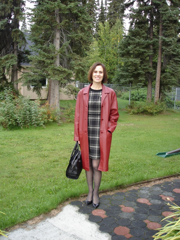 interviewoutfit mature woman in fall job interview outfit