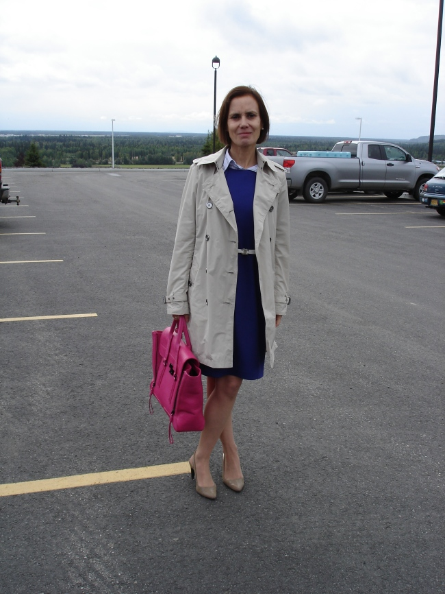#over40 Fall work look with Burberry trench coat | High Latitude Style | http://www.highlatitudestyle.com