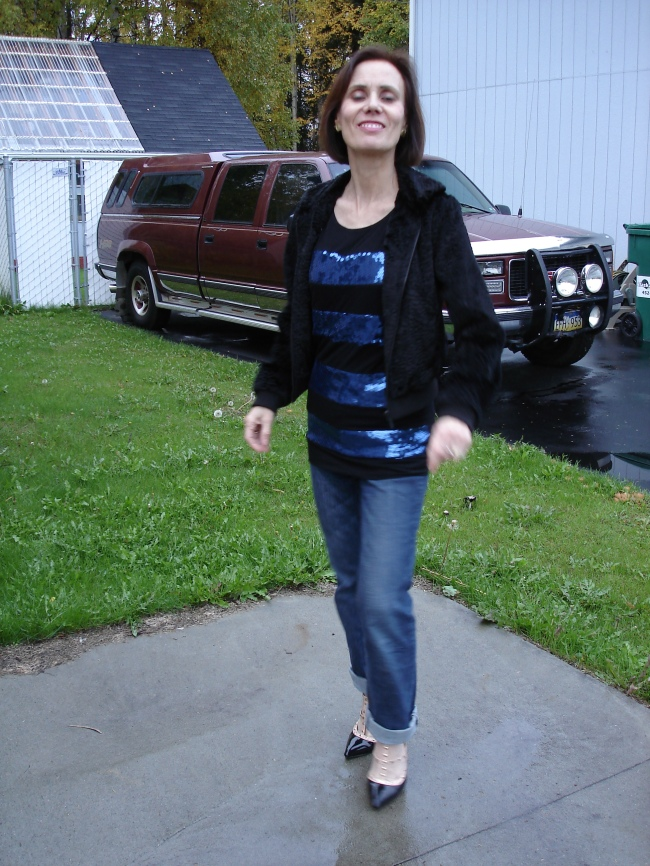 #over40 | Outfit for going out over 40 | High Latitude Style | http://www.highlatitudestyle.com