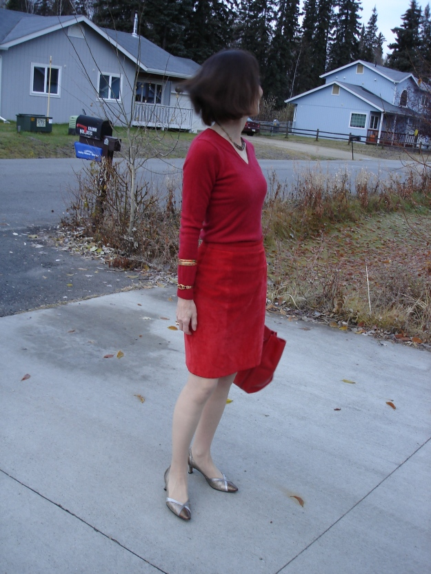 #Over40 All red office look  | High Latitude Style | http://www.highlatitudestyle.com