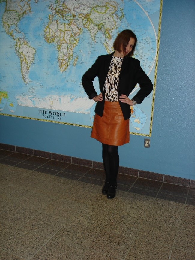 #over40 Work outfit with cardigan worn as top | High Latitude Style | http://www.highlatitudestyle.com