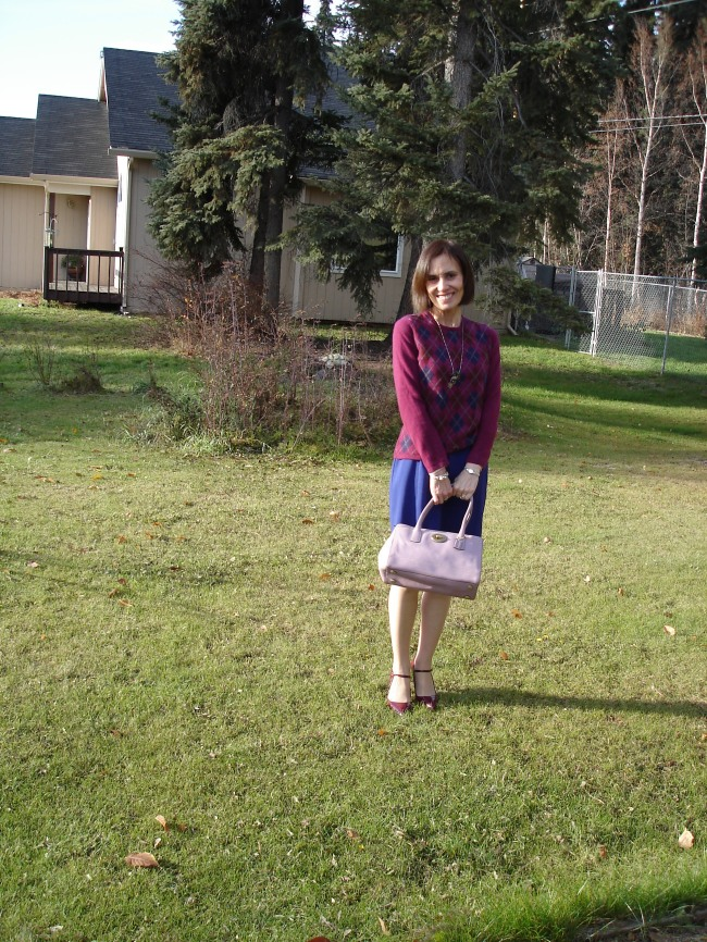 #over40 Work outfit with Coach bag | High Latitude Style | http://www.highlatitudestyle.com