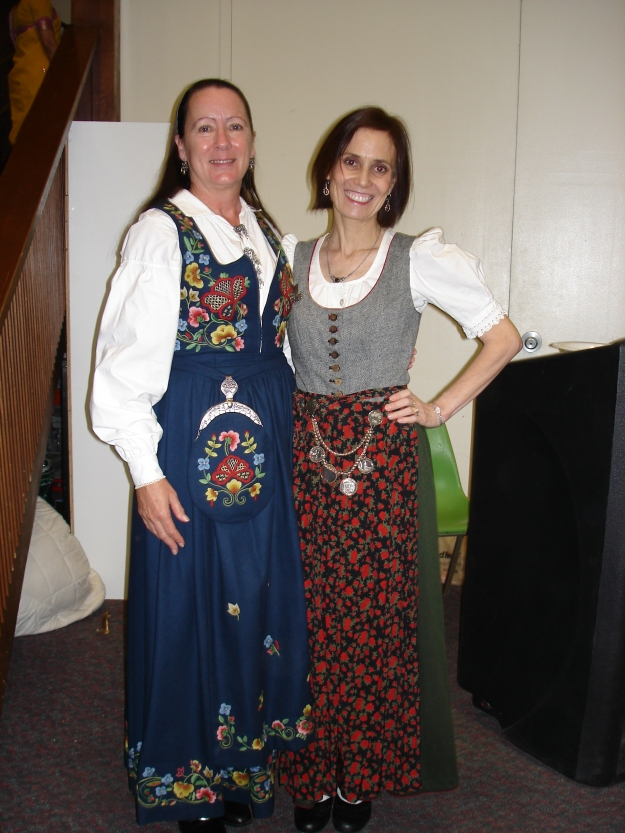 #turningFashionIntoStyle women in dirndls of different heritage