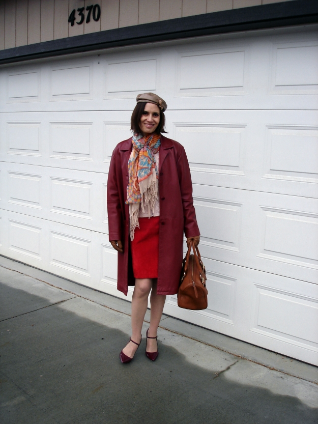 over40fashion woman wearing street style