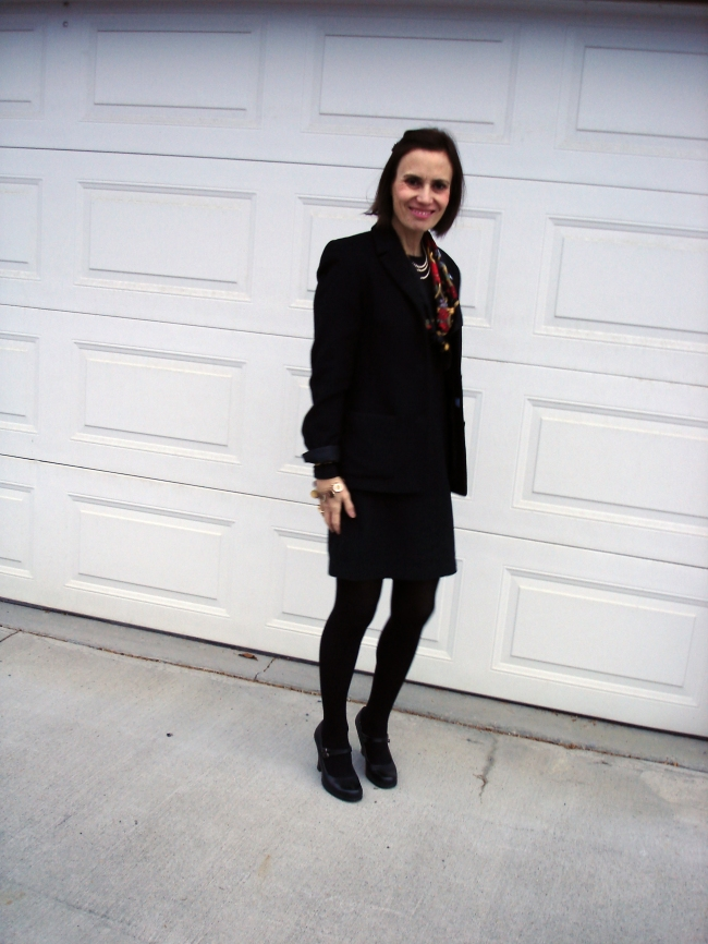 #over40  LBD for work | High Latitude Style | http://www.highlatitudestyle.com