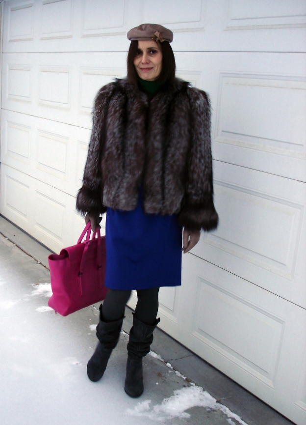 #fashionover40 Classic winter outerwear