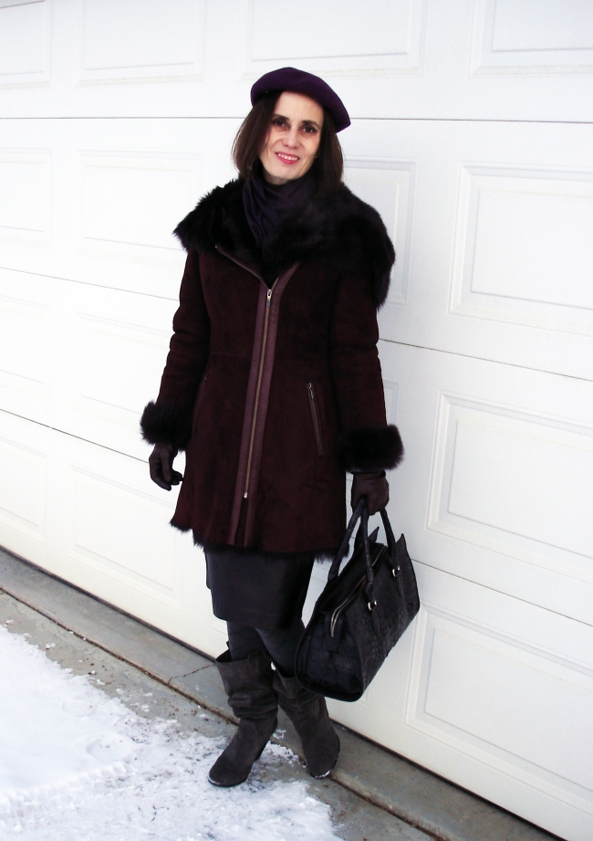 #styleover40 Styling a winter outfit @ http://www.highlatitudestyle.com