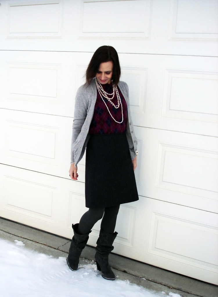 #fashionover40 Classic winter work outfit | High Latitude Style | http://www.highlatitudestyle.com
