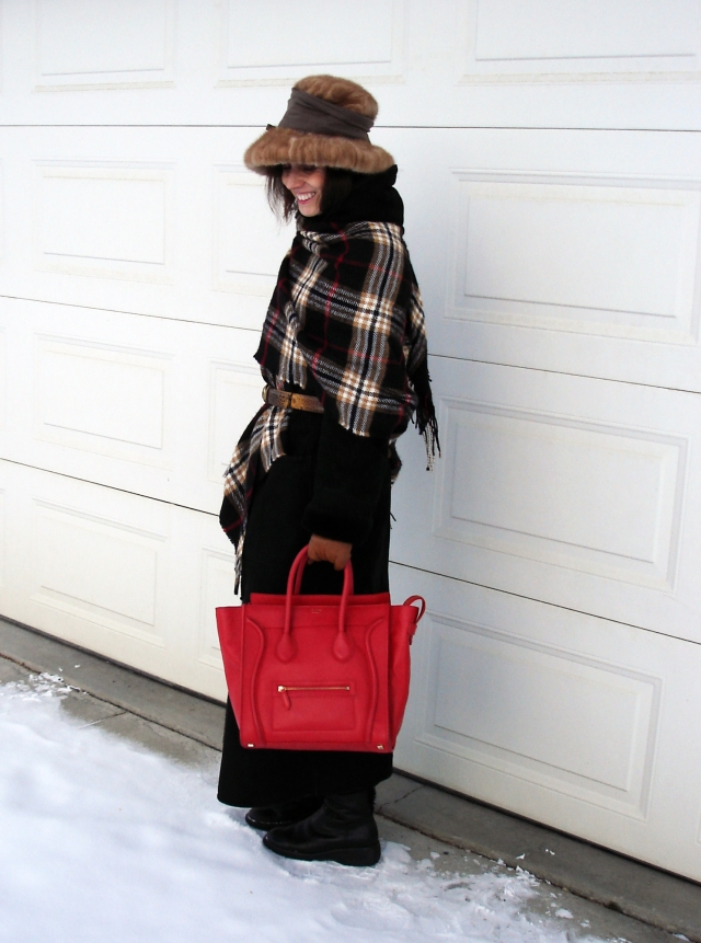 #agelessstyle women dressed for frigid cold weather