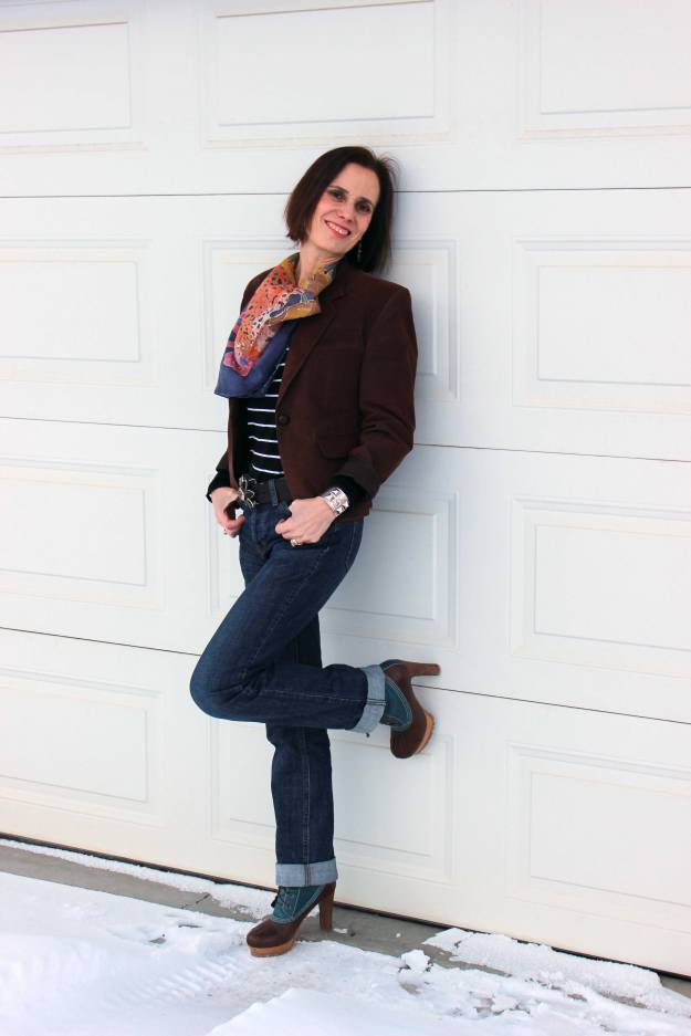 #over40 Casual outfit for mature women | High Latitude Style | http://www.highlatitudestyle.com