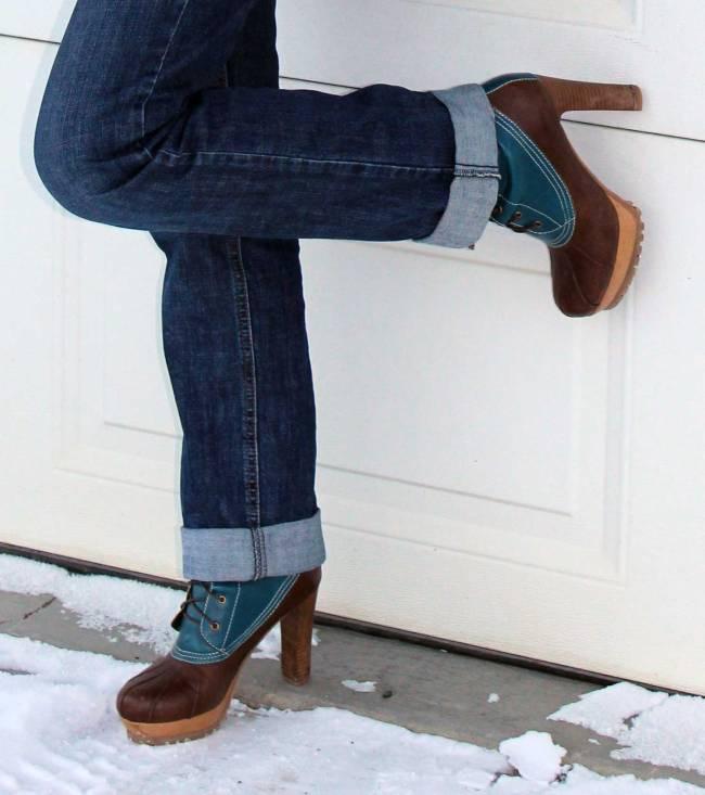 Heeled ducks  | High Latitude Style | http://www.highlatitudestyle.com