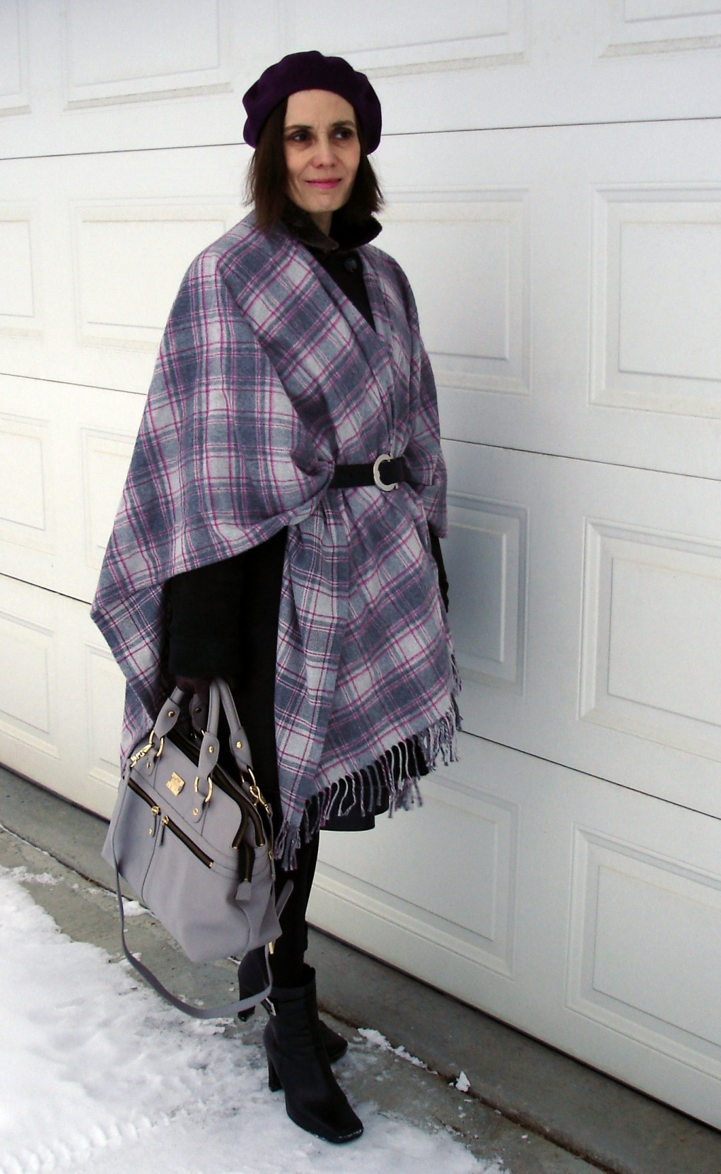 #streetstyle #over-40-fashion Styling outerwear @ High Latitude Style @ http://www.highlatitudestyle.com
