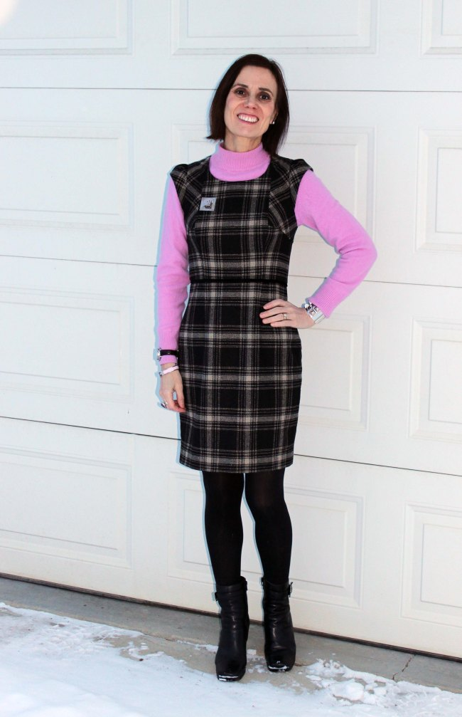 fashionover40 How to wear pink over 40 example work outfit