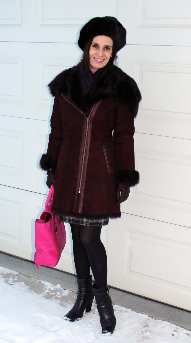 fashionover50 woman in outerwear