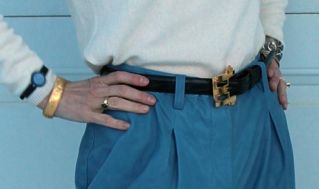 mature accessories statement belt