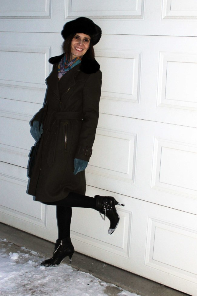 #styleover40 mature woman wearing streetstyle