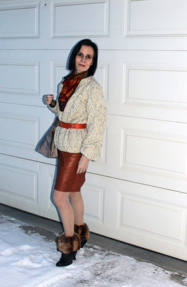 #fashionover40 #Top-of-the-Boot http://www.highlatitudestyle.com  Mature woman wearing streetstyle