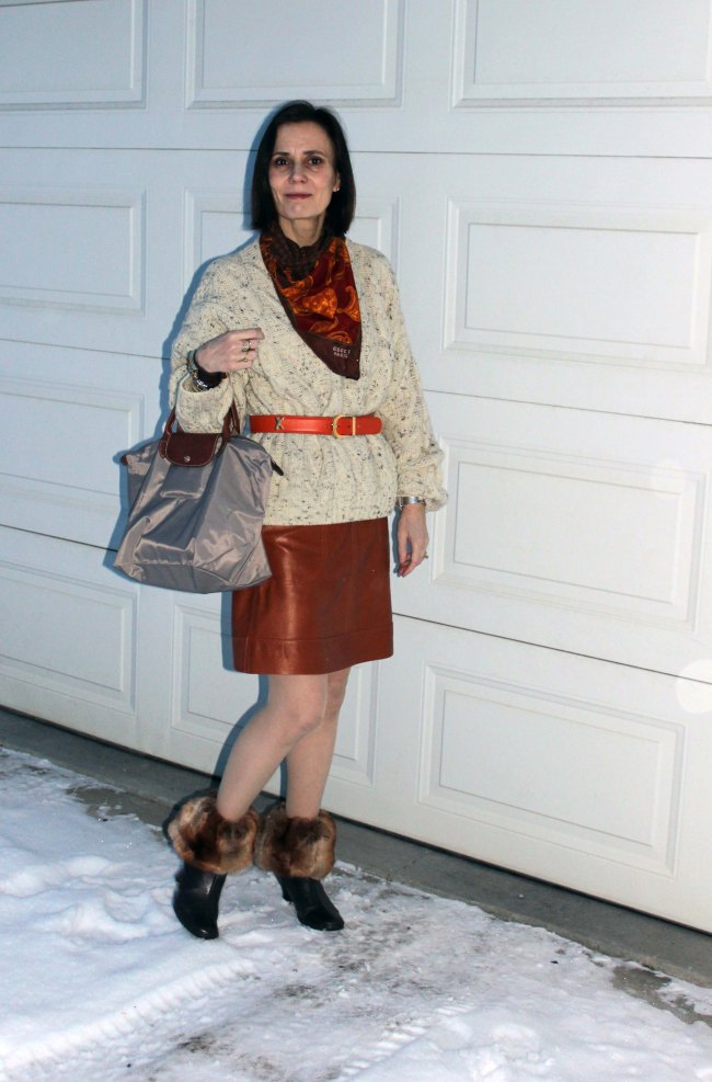 #fashionover40 #Top-of-the-Boot http://www.highlatitudestyle.com Mature women wearing streetstyle