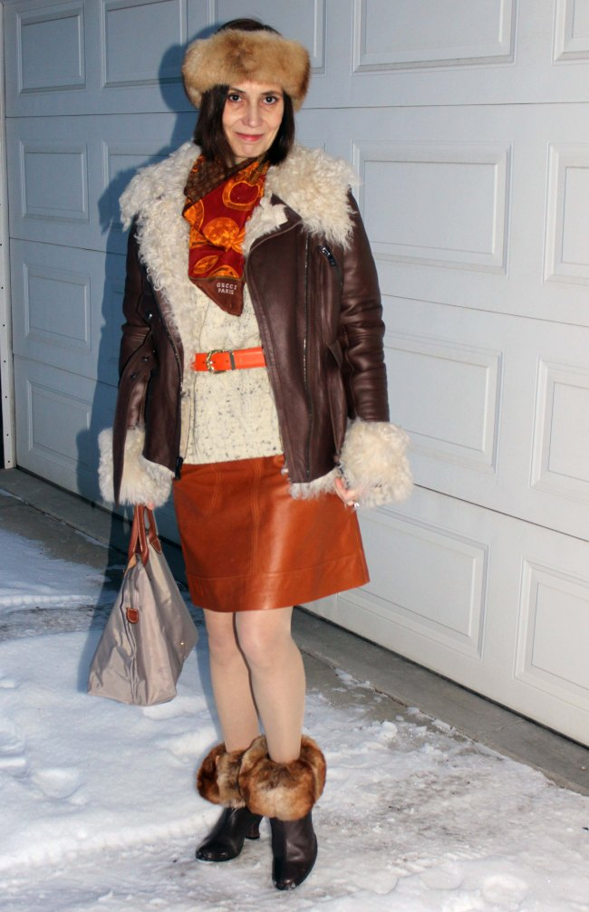 #fashionover40 #Top-of-the-Boot http://www.highlatitudestyle.com  Mature woman in streetstyle