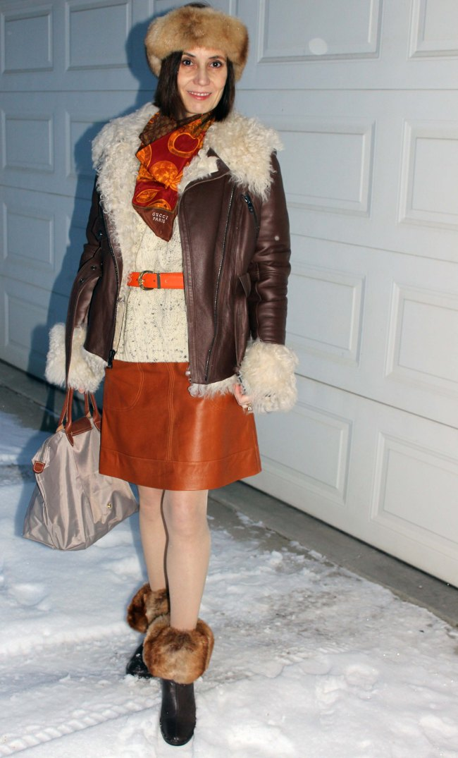 #Top-of-the-Boot #fashionover40 http://www.highlatitudestyle.com Winter look for mature woman