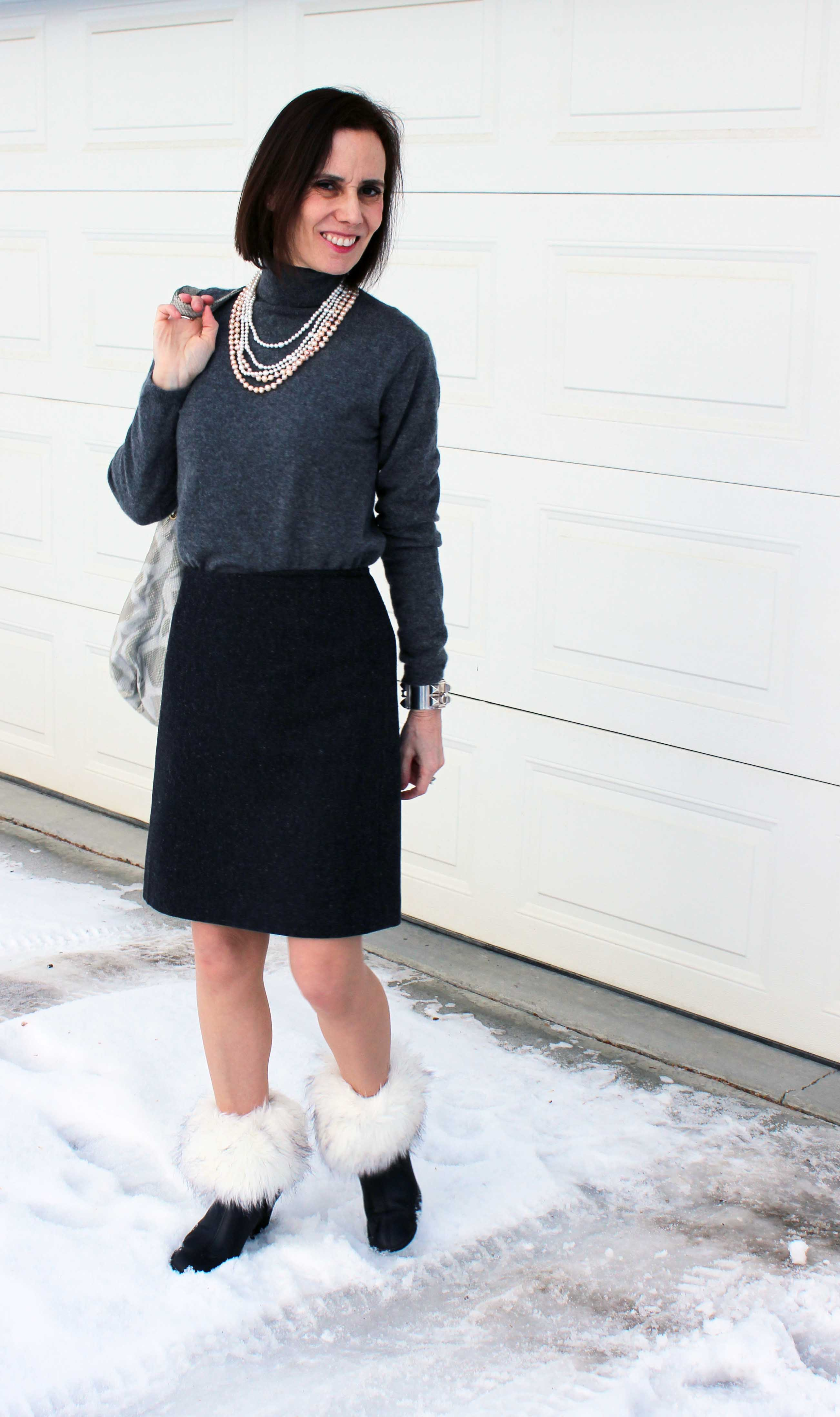 Chinook Permits Bare Legs In Winter  High Latitude Style-9546