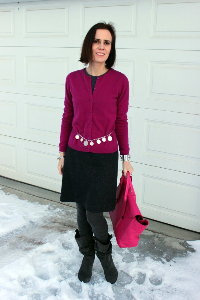 Winter office look for women over 40  | High Latitude Style | http://www.highlatitudestyle.com