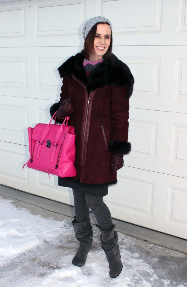 Winter outfit for women over 40 | High Latitude Style | http://www.highlatitudestyle.com