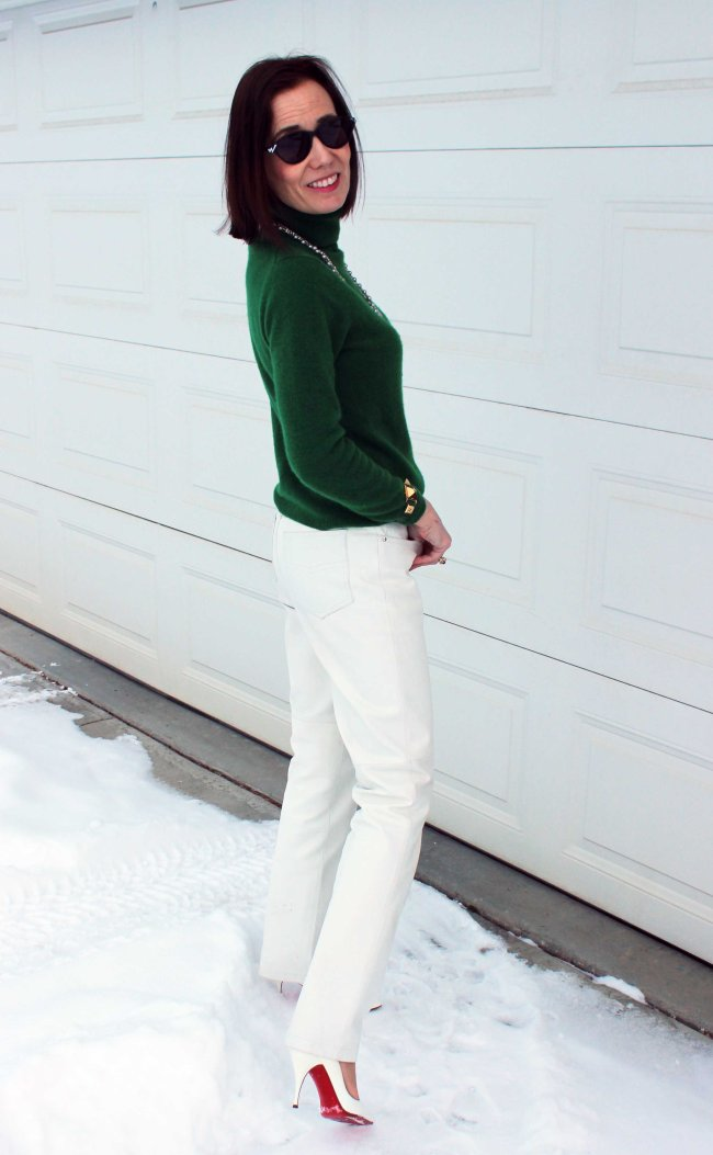 Mature women winter office look | High Latitude Style | http://www.highlatitudestyle.com