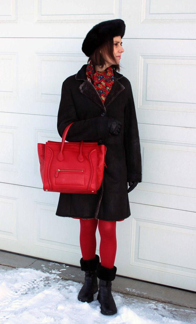 midlife woman in styled outerwear outfit