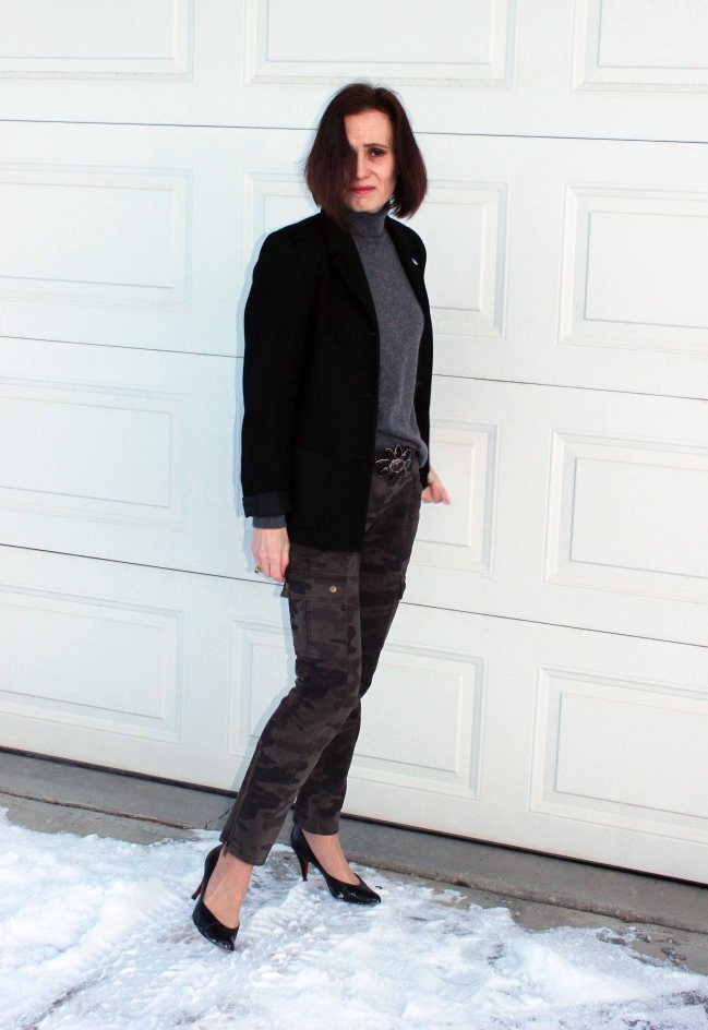 #over40 Camouflage pants over 40 | High Latitude Style | http://www.highlatitudestyle.com