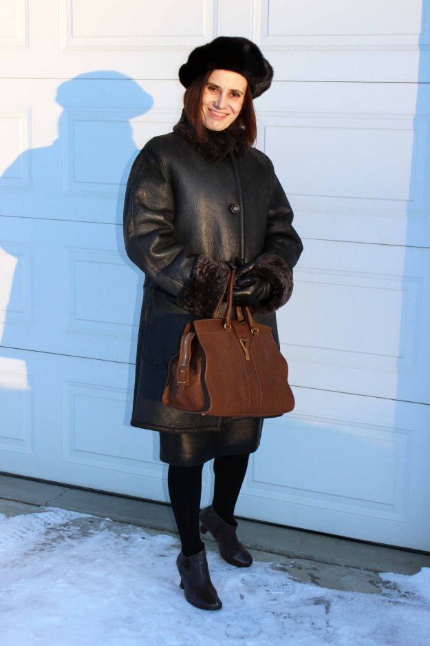 fashion over 40 winter look for women