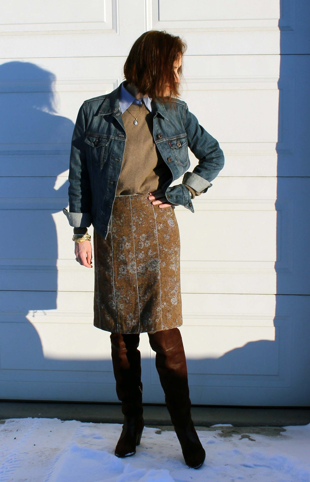 #over40 layered winter office look | High Latitude Style | http://www.highlatitudestyle.com