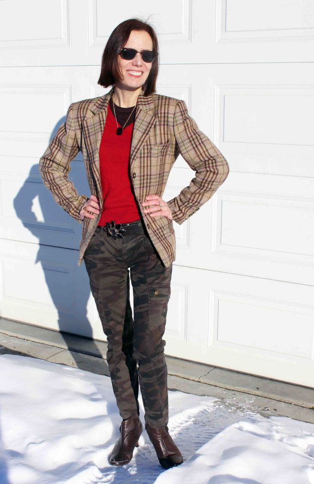 #styleover40 Streetstyle worn by a mature woman http://www.highlatitudestyle.com
