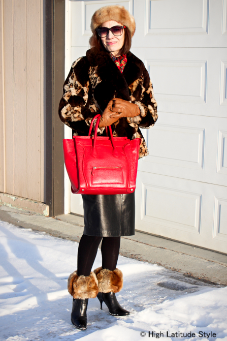 fashion over 50 Winter outerwear for mature women