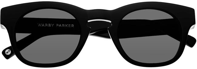 Wheeler Warby Parker sunglasses in black
