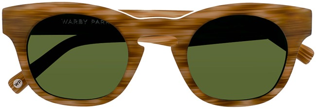 Warby Parker Wheeler sun protection