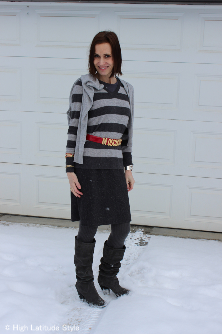 #over-40-fashion Winter office look | High Latitude Style | http://www.highlatitudestyle.com