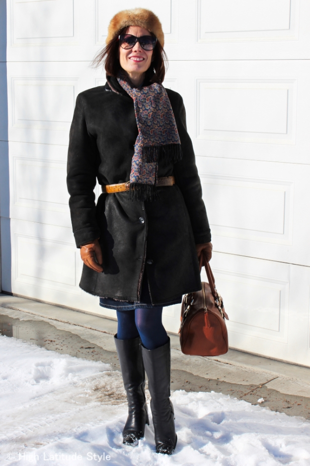 fashion over 40 Classic winter look