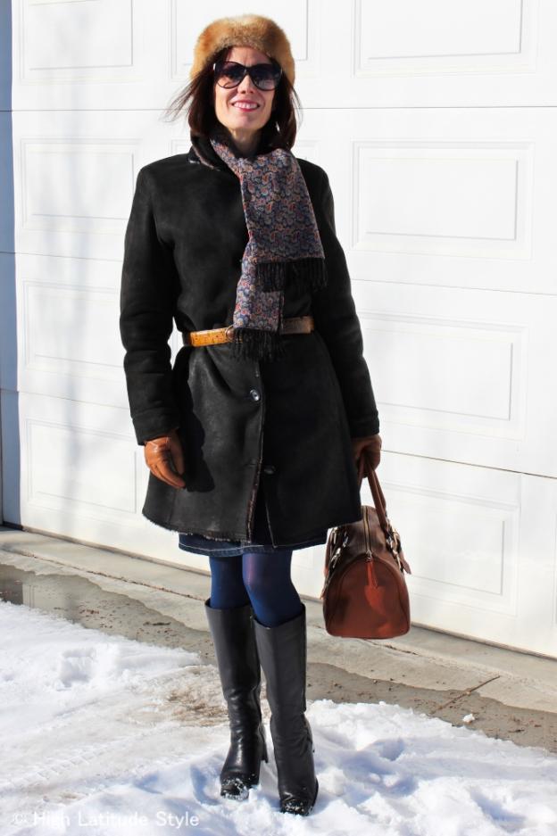 #over40 Classic winter look  | High Latitude Style | http://www.highlatitudestyle.com