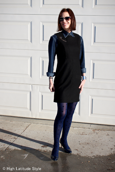 #mature-women Styling a LBD for work  | High Latitude Style | http://www.highlatitudestyle.com