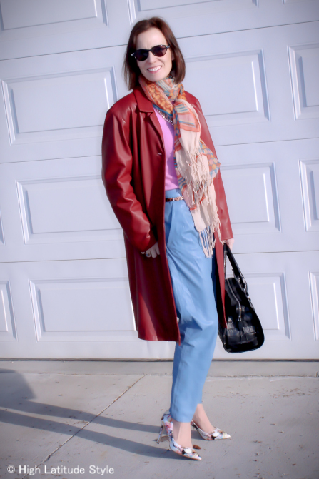 #mature-women Stylish outfit in the color trends of  the year  | High Latitude Style | http://www.highlatitudestyle.com
