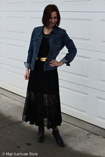 #over-40-fashion How to wear lace over 40  | High Latitude Style \ http://www.highlatitudestyle.com